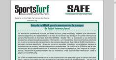 Guía de la STMA para la mantención de campos de football internacional