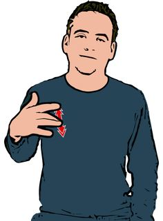 Address/Live - Open hand with bent middle finger. Tip of middle finger rubs up and down on chest. British Sign Language Dictionary, English Sign Language, Sign Language For Kids, Sign Language Phrases, Sign Language Alphabet, Sign Language Interpreter, Learn Sign Language, American Sign Language, Learn Bsl