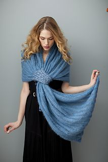 Grecian Turn pattern - combine with Amelia is Rabbit Lover's Knot for a cool wrap
