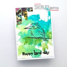 Happy New STAMPlorations Year! We're back with our Inspiration posts, and today we're featuring my line of stamps, The Bee's Knees . Bees Knees, Watercolor Tattoo, Paper Crafts, Bird, Day, Projects, Inspiration, Stamping, Design