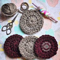 What to do with left over yarn? Coasters? Or maybe turn it into granny squares? I don't know yet... I just wanted to play with this cute double ended hook from @heartsprinkle . . . . . #crochet #crocheter #crocheters #crochetersofinstagram #crochetaddict #crochetlife #crochetlove #yarn #sacramento #knitting #designsbyphanessa #handmadebyphanessa #handmade #diy #makersgonnamake #yarnporn #vkdtbo #smallbusiness #etsy #maker #yarn #chunkyknits #crochethook