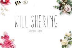 Willshering Sans (OTF & TTF Format)