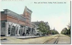 2nd & Main Sts. Jonesboro Indiana.