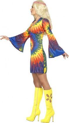 PINK 1960/'S POP SERGEANT PEPPER COSTUME MUSIC ICON HIPPY FANCY DRESS 60S THEME