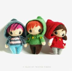 The Hoodies Amigurumi Pattern