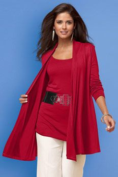 from Metrostyle - Wow... I LOVE this red!