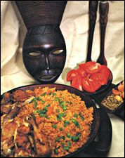 Original pinner said: Jollof Rice - Jollof Rice is among the best known of West African dishes not only because it is delicious and easy to prepare, but because the ingredients are readily available in Western countries! Its origin, however, remains a bone of contention between several West African nations. There are many regional cooking variations.