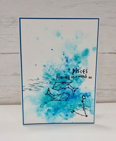 Visible Image - Zodiac Pisces - Clear Polymer Stamp Set Pisces Zodiac, Zodiac Signs, Image Stamp, Star Constellations, Zodiac Symbols, Stamps, Cool Stuff, Projects, Cards