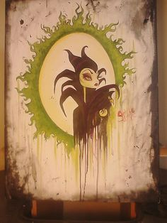Awesome Maleficent Artwork by Shani Drake!