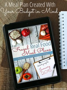 Are you wanting to feed your family real food, but struggle to balance the cost? Finally - a meal plan created with your budget in mind!! You NEED to check this out. It could literally save all your real food/meal planning/budgeting woes!