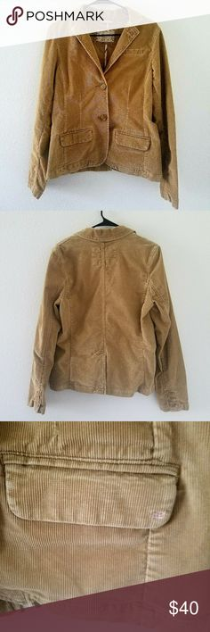 American eagle corduroy jacket American eagle corduroy jacket Materials: shell 99% cotton exterior 95% cotton 1 spandex EUC:ie; no rips, stains, tares and or oders. Mint condition. American Eagle Outfitters Jackets & Coats Blazers
