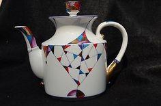Lomonosov Kaleidoscope Porcelain Tea Collection - Beautiful - tea set, colorful