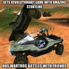 Halo Combat Evolved There are no warthog physics