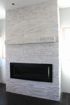 Sheer Serendipity: Completed fireplace