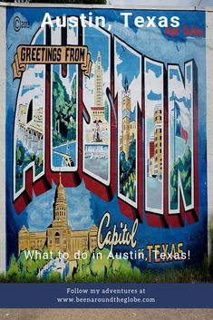 Planning to visit Austin in Texas? Read the article to find out what to do in Austin, the capital of Texas! Visit Austin, Austin Texas, Texas Tour, Things To Do In Austin Tx, Vacation Trips, Family Vacations, Cruise Vacation, Disney Cruise, New York Graffiti