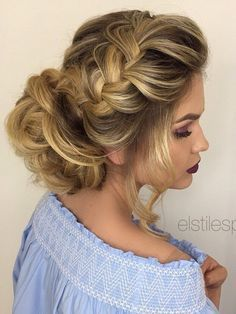 Elstile wedding hairstyles for long hair 62 - Deer Pearl Flowers / http://www.deerpearlflowers.com/wedding-hairstyle-inspiration/elstile-wedding-hairstyles-for-long-hair-62/