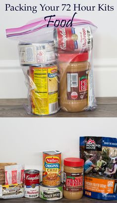 Go Bag 72 Hour Kit: Food- How to pack as many calories in a little bag as possible. Rationing and preparing can get the most out of your go bag. Emergency Go Bag, Emergency Preparedness Food Storage, 72 Hour Emergency Kit, Prepper Food, 72 Hour Kits, Emergency Preparation, Emergency Supplies, Disaster Preparedness, Survival Prepping