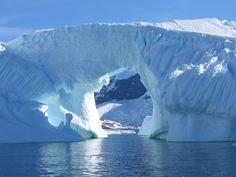Beautiful picture of an Iceberg in Antarctica #Antarctica #OceanwideExpeditions