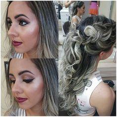 WEBSTA @ warleymoura - Hair and make glam para linda formanda. #instamake #make #mac #maccosmetics #kryolan #marykaycosmetics #penteado #hair #hairstylist #madrinhas #noivas #formandas #job #makelovers #maisquelindacosmeticos #motivescosmetics #jobmake #makejob #kryolan #ombrelips #ombrelipstick #smokeyeyeshadow #vivavideo #videomakeup_ir #cutcrease #delineadoduplocomglitter