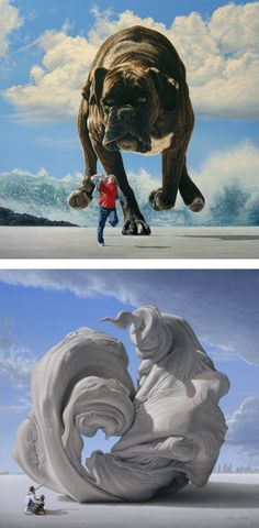 Fantastic Paintings by Joel Rea | Inspiration Grid | Design Inspiration