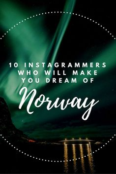 Norway is an incredible destination and these Instagrammers can show you why... Travel Articles, Travel Advice, Travel Guides, Travel Tips, Budget Travel, Travel Destinations, Norway Travel, France Travel, Travel Pictures