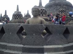 Borobudur Temple in Magelang, Indonesia.