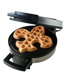 fleur de lis waffles