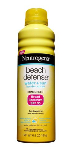 Use Neutrogena® Beach Defense® Water + Sun Protection Spray on Sunscreen Broad Spectrum SPF 70 for those sunny beach days when sun safety is key! Best Sunscreens, Broad Spectrum Sunscreen, Anti Aging Treatments, Aging Process, It Goes On, Fair Skin, Sun Protection, Beauty Secrets, Skin Care