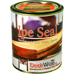 DeckWise Ipe Seal Hardwood Endgrain Sealant, 1 Qt Can - - Amazon.com