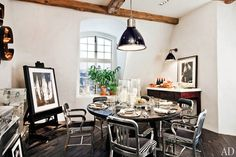 Ralph Lauren home collection | artful, industrial kitchen | architectural digest