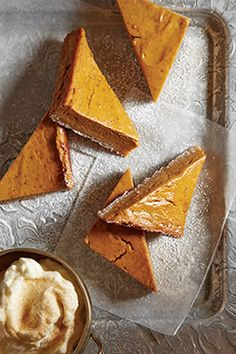 Thanksgiving Recipe - pumpkin pie bars | With a Vitamix blender, you can enjoy favorite flavors in new ways.