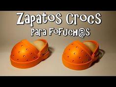 ZAPATOS CROCS (SUECOS) PARA FOFUCH@S - GOMA EVA - YouTube