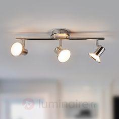 Plafonnier LED chromé brillant Charley, référence 9945172 - Collection Charley : des spots pour toute la maison à petit prix chez Luminaire.fr !
