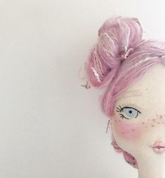 of the new faces coming together 💗 going on with this lady, as requested by a very special little girl over Can't wait to get both the girls dollies shipped. but in the meantime still lots of sewing and fun outfit creating to do 💕 Doll Crafts, Diy Doll, Photo Rose, Sewing Dolls, Doll Maker, Soft Sculpture, Fabric Dolls, Softies, Handmade Toys