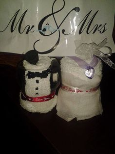 Wedding Couple Washcloth Cupcakes by GiftBasketsbyMel on Etsy Wedding Gift Baskets, Wedding Gifts, Wedding Table Markers, Washcloth Cupcakes, Bridal Shower Gifts, Washing Clothes, Wedding Couples, Color Schemes, Whimsical