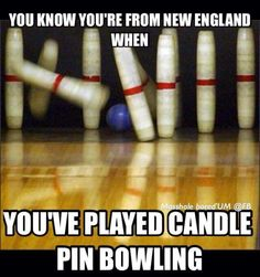 Good Ol' Candle Pin Bowling
