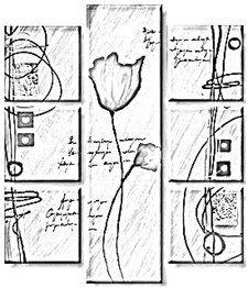 Dibujos de hojas para colorear e imprimir patrones - Plantillas para pintar cuadros ...