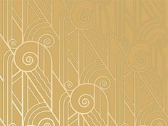 Oh my gosh, I am going to need this art deco wallpaper somewhere in my house someday...
