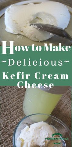 How to Make Kefir Cream Cheese | Fermentools.com
