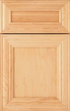 KITCHEN SELECTION - FRENCH VANILLA with upgraded drawers...Madison cabinet doors add a casual touch to a classic look with a modified full overlay from Homecrest Cabinetry.