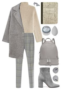 """Winter Gray"" by cherieaustin ❤ liked on Polyvore featuring Christian Dior, Etro, Rosetta Getty, MANGO, Gianvito Rossi, Michael Kors, beautyblender and Alexis Bittar"