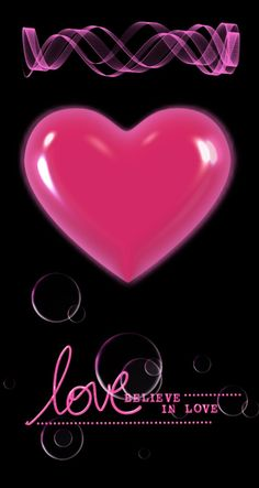 Heart Wallpaper, Love Wallpaper, Wallpaper Quotes, Iphone Wallpaper, Beautiful Wallpaper, Boss Up Quotes, Animated Heart, Neon Backgrounds, Love Games