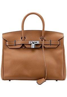 Nice leather Birkin style handbag