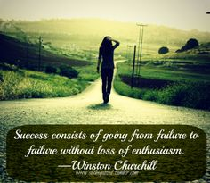 winston churchill, quotes, sayings, success, enthusiasm | Favimages.net
