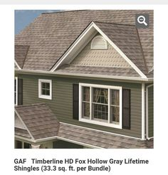 Best Gaf Timberline Hd Roof In Pewter Gray Back Porch 400 x 300