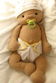 "Baby Mine Doll Sewing Pattern pattern on Craftsy.com, 19"" baby doll, $10.00 PDF pattern"