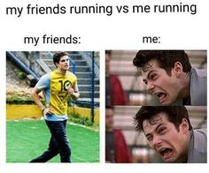 Find images and videos about funny, teen wolf and dylan o'brien on We Heart It - the app to get lost in what you love. Teen Wolf Memes, Teen Wolf Quotes, Teen Wolf Funny, Teen Memes, Crazy Funny Memes, Really Funny Memes, Stupid Funny Memes, Funny Laugh, Funny Relatable Memes