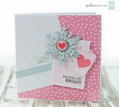 Craft Asylum card using the Mixed Christmas Sentiments Christmas Ideas, Christmas Cards, Xmas, Christmas Sentiments, Merry And Bright, Cute Cards, Clear Stamps, Fun Projects, Making Ideas