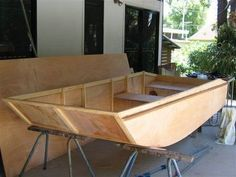 How To Build Wooden Boats With 16 Small-Boat Designs-Wood Boat Building Plans And Kits Wooden Boat Kits, Wooden Boat Building, Wooden Boat Plans, Boat Building Plans, Make A Boat, Build Your Own Boat, Plywood Boat Plans, Jon Boat, Boat Dock