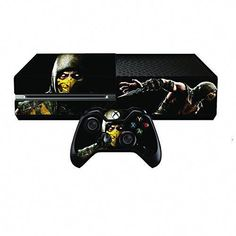 Intelligent Arsenal Crest Xbox One Console Skin Video Games & Consoles Video Game Accessories 2x Controller Stickers Decal Faceplate Pad
